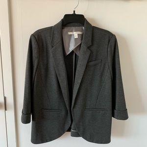 NBW LC Lauren Conrad 3/4 Cuffed Sleeve Open Blazer